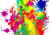 Link toFun color ink graffiti vector