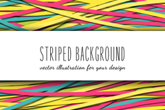 Link toFun colored paper striped background vector