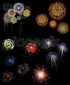 Link toFun fireworks vector