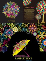Link toFun floral design graphic vector