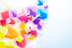 Link toFun ice cubes background vector