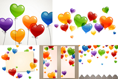 Link toFun loving balloon background vector