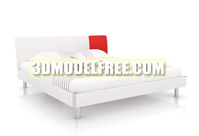 Link toFuniture 3d max model: northern european double bed