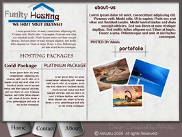 Link toFunky hosting layout