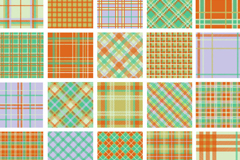 Link toFunky plaid background vector