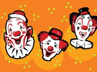 Link toFunny clowns vector free