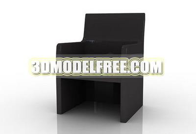 Link toFurniture 3d model: black wooden dining chair 3ds max model