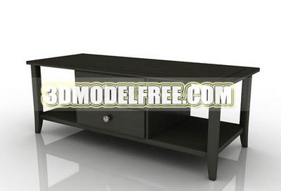 Link toFurniture 3d model: dark color tv bench 3dmax model