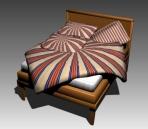 Link toFurniture - beds a003 3d model