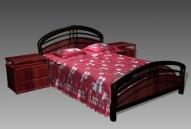 Link toFurniture - beds a012 3d model