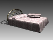 Link toFurniture - beds a019 3d model