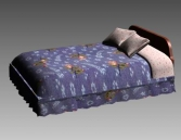 Link toFurniture - beds a024 3d model