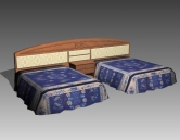 Link toFurniture - beds a029 3d model