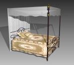 Link toFurniture - beds a031 3d model
