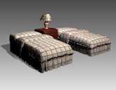 Link toFurniture - beds a033 3d model