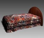 Link toFurniture - beds a039 3d model