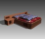 Link toFurniture - beds a040 3d model