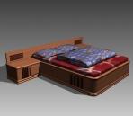 Link toFurniture - beds a041 3d model