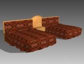 Link toFurniture - beds a042 3d model