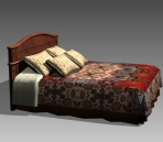 Link toFurniture - beds a043 3d model