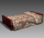 Link toFurniture - beds a047 3d model