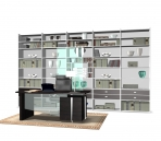 Link toFurniture- cabinets 010 - bookcase 3d model