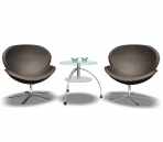 Link toFurniture - chairs 001 - leisure chair 3d model