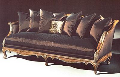 Link toFurniture model: deluxe black fabric sofa and cushions 3d model