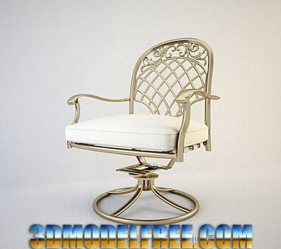 Link toFurniture model: european metal armchair 3dsmax model