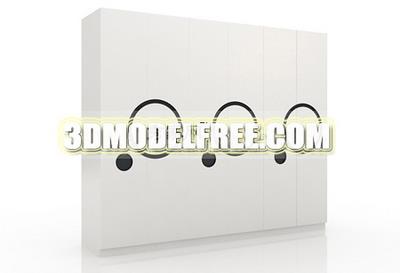 Link toFurniture model: wardrobe 3ds model home decor