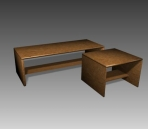 Furniture -tables  a070 3d model