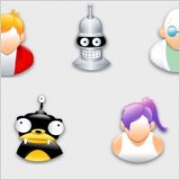 Link toFuturama sigma style icons pack