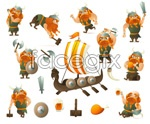 Link toGame character set vector