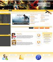 Link toGame reviews design ver. 2