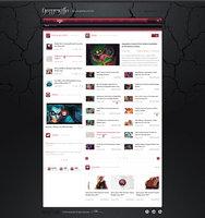 Link toGamezilla - news page v3 (sidebar on the left)