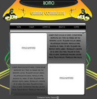 Link toGaming web template
