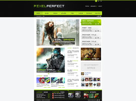 Link toGaming website design - pixelperfect