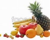 Gao qingyuan fruit elements files psd