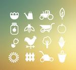Link toGarden gardening icons vector