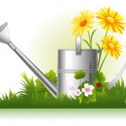 Link toGarden watering design vector graphics 01 free