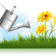 Link toGarden watering design vector graphics 02 free
