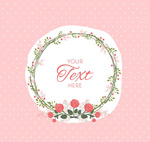 Link toGarland text background vector