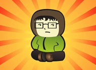 Link toGeek boy vector free