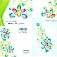 Link toGem flowers vector