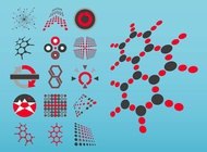 Link toGeometric artworks vector free