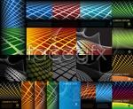 Link toGeometric background vector