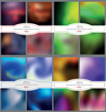 Link toGeometric gradient background vector