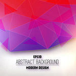 Link toGeometric mosaic graphical backgrounds vector