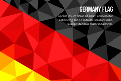 Link toGeometry germany flag background vector