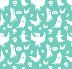 Ghost white seamless background vector